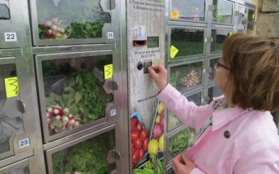 Addio farmer markets, arrivano i distributori automatici di frutta e verdura fresca a km 0