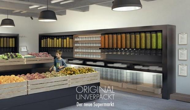 Comprereste in un supermercato che vende tutto sfuso? A Berlino la prima insegna a imballaggio zero