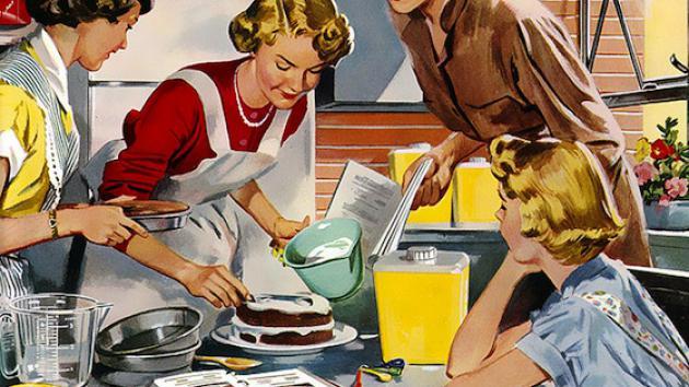 Non si attenua il gap di genere in cucina