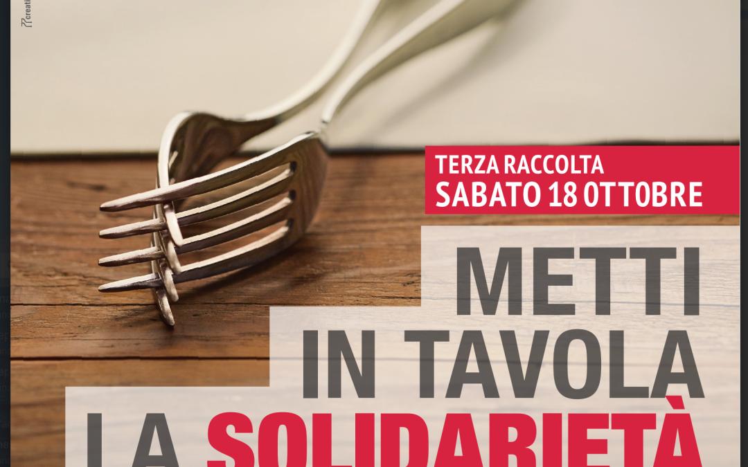Le iniziative di solidarietà nel mese di ottobre