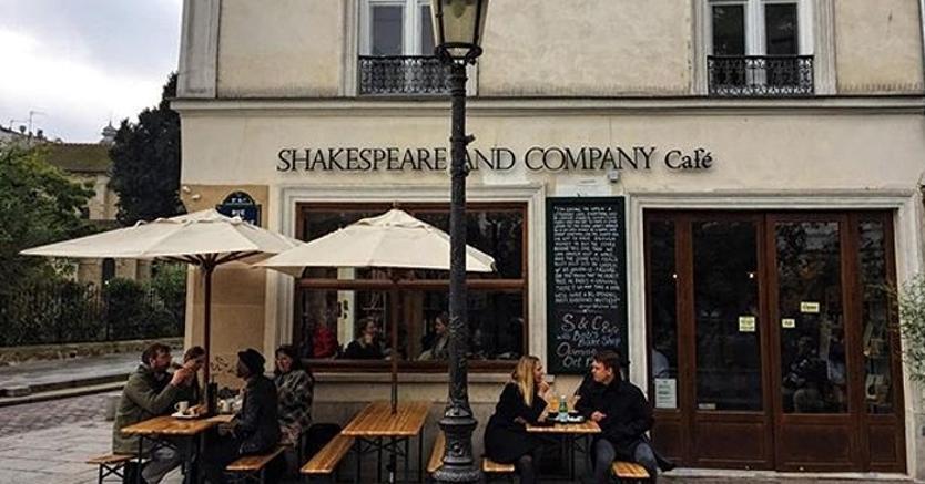 Parigi, la libreria Shakespeare & Co diventa anche caffè bio