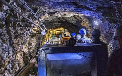 Non solo cantine, in Piemonte lo spumante invecchia nell'ex-minera di talco