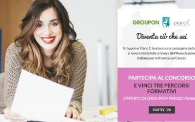 Groupon Italia: 22 milioni di coupon e una campagna a favore delle donne ricercatrici