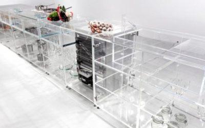 Cibo sempre in primo piano nella cucina trasparente