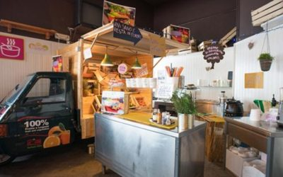 Con Skibox lo street food sale in quota